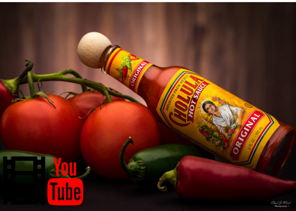 YouTube video Cholula recepty