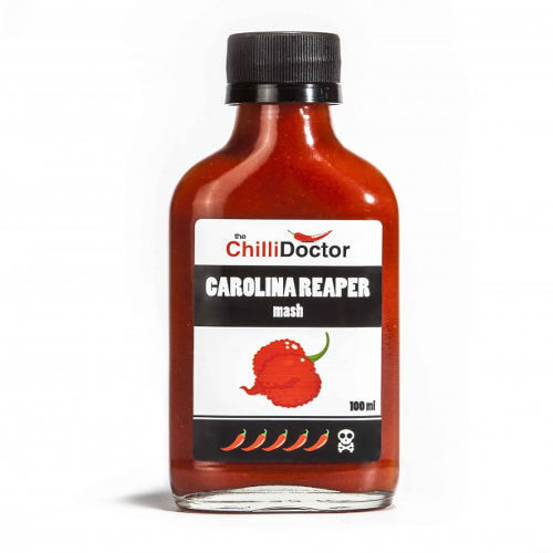 Carolina Reaper mash so semiačkami
