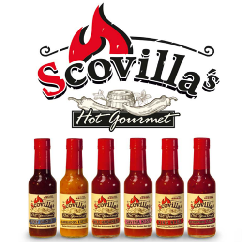 Scovillas Hot Gourmet SAVINA KISS Exquisite Red Savina Hot Sauce