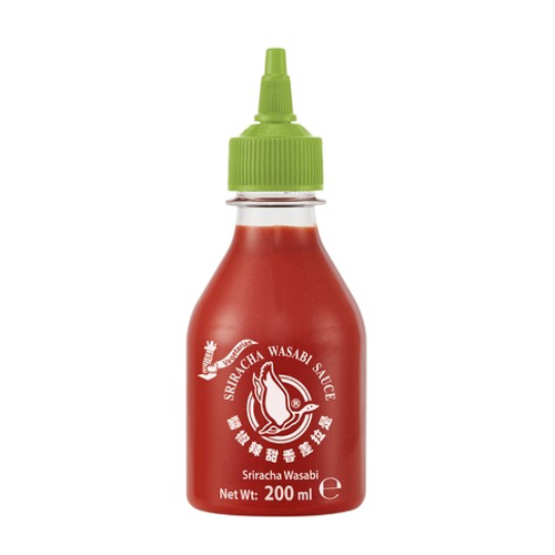 Sriracha Chilli Sauce with Wasabi 200 ml