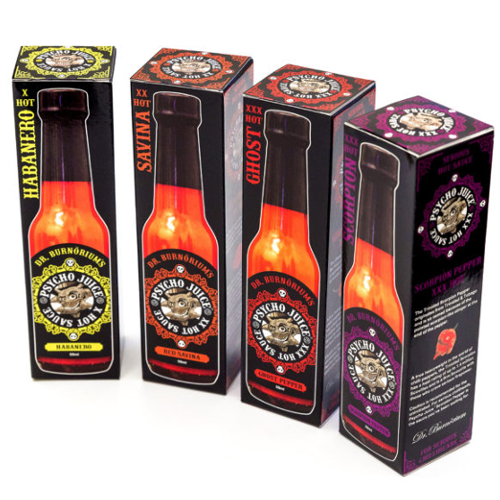 PSYCHO JUICE Mini Four Pack