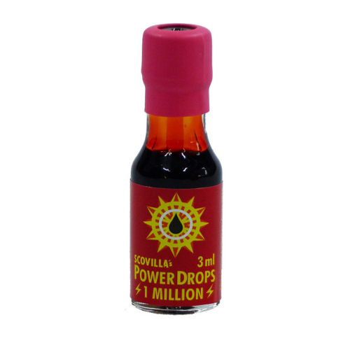 Scovillas Powerdrops, 1 Mio Scoville Units