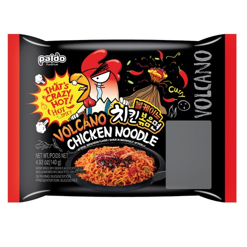 Instant Noodles-Hot & Spicy Chicken 140g