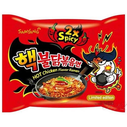 Instant Noodles Extra Hot Chicken