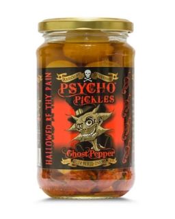 PSYCHO PICKLES -- Ghost Pepper Onions